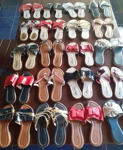 Sandálias rasteirinhas - Foto 2