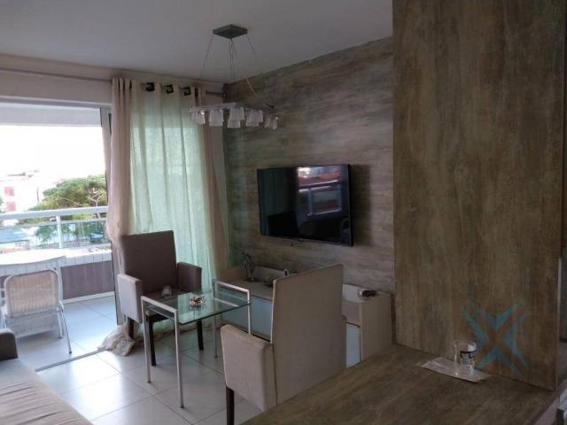 Apartamento com 1 dormitório à venda, 48 m² por r$ 300.000 - praia de iracema - fortaleza/ - Foto 7