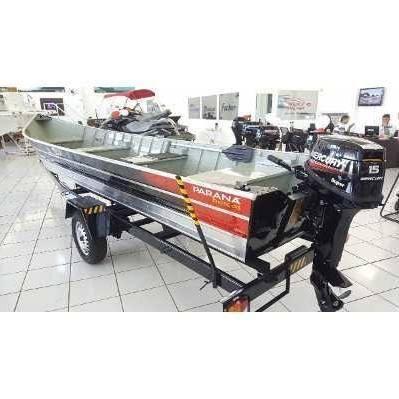 Barco Pr 600 Sport Motor Mercury 15 Hp