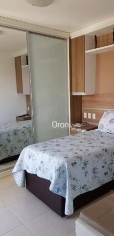 Apartamento com 2 dormitórios à venda, 69 m² por r$ 299.000,00 - setor pedro ludovico - go - Foto 13