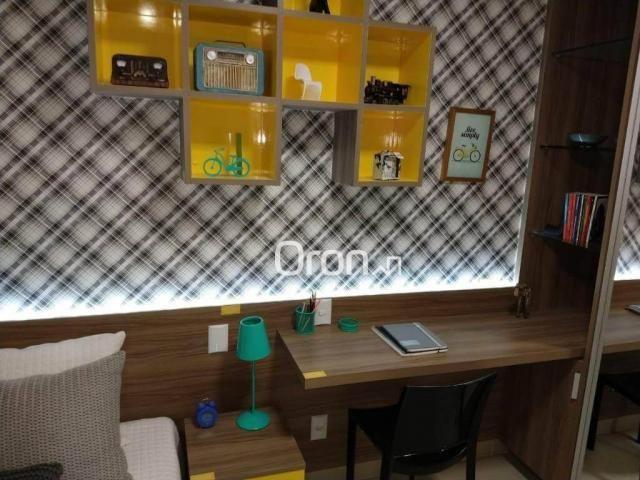 Apartamento com 3 dormitórios à venda, 94 m² por r$ 380.000,00 - parque amazônia - goiânia - Foto 18