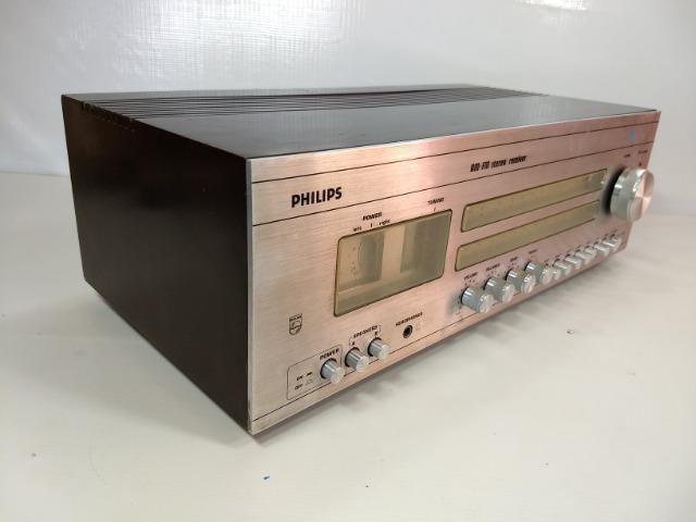 Receiver Philips 787 Am Fm Stereo Hi Fi Retro Vintage Radio - Foto 3