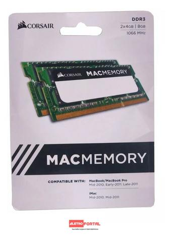 Memória iMac Macbook Pro MiniMac Macmemory Corsair - Foto 5