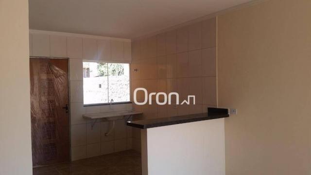 Casa com 2 dormitórios à venda, 70 m² por r$ 135.000,00 - setor cora coralina - goianira/g - Foto 5