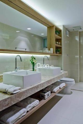 Apartamento com 3 dormitórios à venda, 154 m² por r$ 770.000,00 - setor bueno - goiânia/go - Foto 9