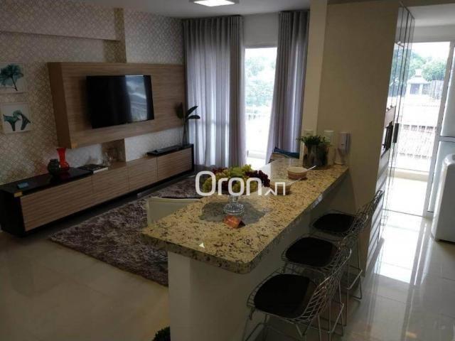 Apartamento com 3 dormitórios à venda, 94 m² por r$ 380.000,00 - parque amazônia - goiânia - Foto 9