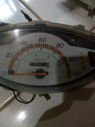 Painéis de Honda Biz 100 original c marcador combustível antiga