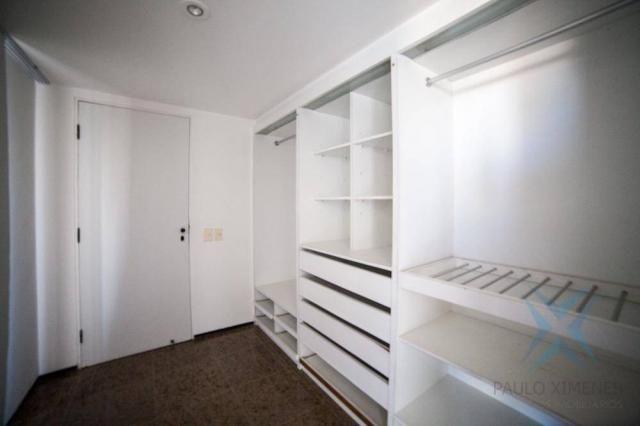 Apartamento vista mar com 4 dormitórios à venda, 352 m² por r$ 650.000 - antônio diogo - f - Foto 7