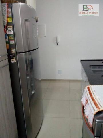 Apartamento com 2 dormitórios para alugar, 50 m² por r$ 1.300/mês - vila alto de santo and - Foto 14