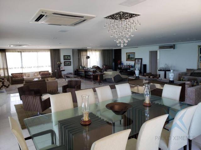 Apartamento alto padrão para alugar, 550 m² por r$ 20.000/mês - meireles - fortaleza/ce - Foto 2
