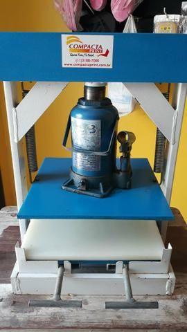 COMPACTA PRINT (Máquina para fazer sandálias) - Foto 4