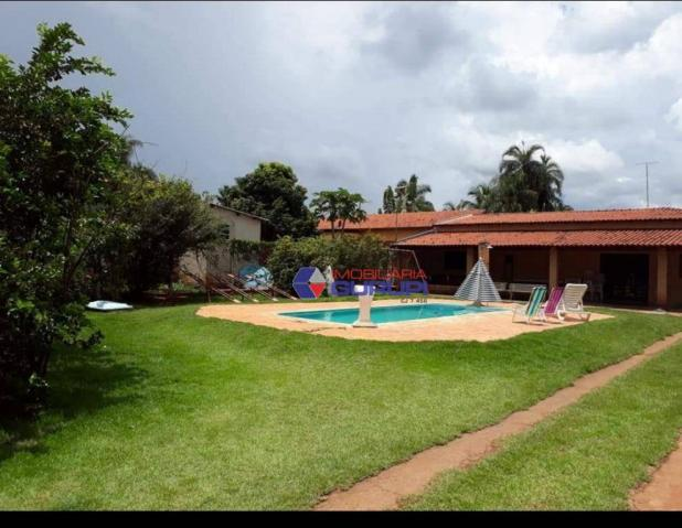 Chácara com 2 dormitórios para alugar, 1000 m² por R$ 2.200/mês - São Benedito da Capelinh - Foto 2