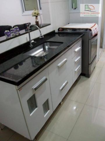 Apartamento com 2 dormitórios para alugar, 50 m² por r$ 1.300/mês - vila alto de santo and - Foto 15