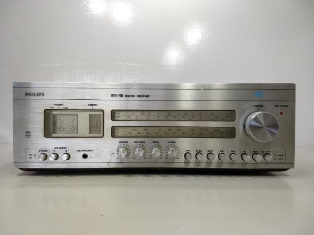 Receiver Philips 787 Am Fm Stereo Hi Fi Retro Vintage Radio - Foto 6