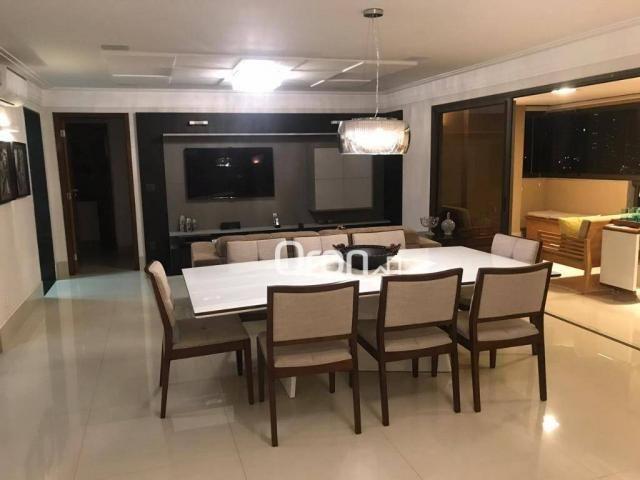 Apartamento à venda, 174 m² por r$ 1.250.000,00 - setor bueno - goiânia/go - Foto 4