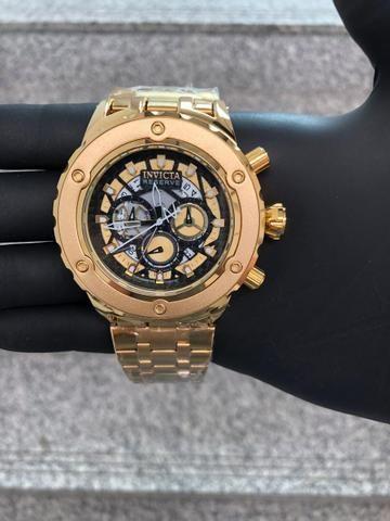 4082d685d51 Relógio Invicta Arlindo Cruz 100% Funcional - Bijouterias
