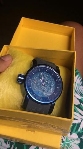 fffbf6bc18a Cordão de prata Novo   Relógio Invicta Yakuza