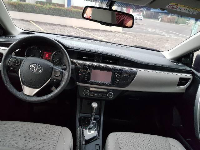 Toyota Corolla XEI Aut. 2015 impecável  - Foto 5