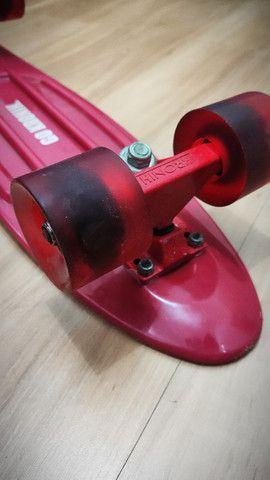 Skate Cruiser (Mini) Vermelho - Foto 2