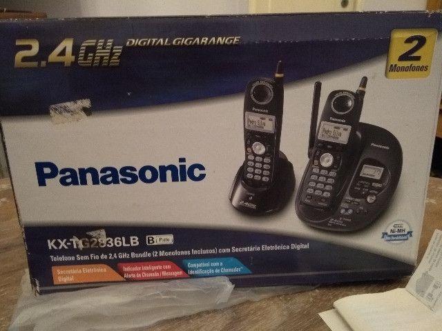 Telefone Panasonic KX-TG2836LB - Foto 3