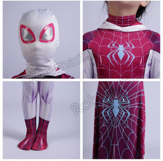 Fantasia infantil aranha feminina