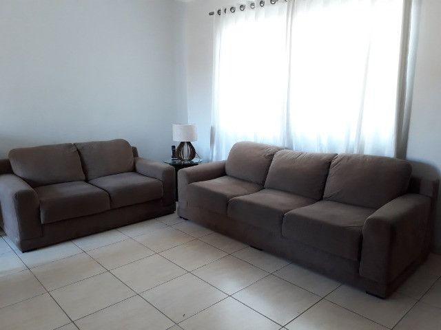 Vendo jogo de sofá em tecido