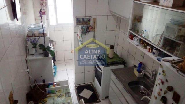 Apartamento à venda com 1 dormitórios em Guilhermina, Praia grande cod:AC927 - Foto 12