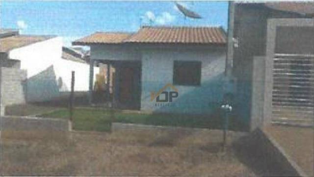 Casa com 3 dormitórios à venda, 69 m² por R$ 62.337,02 - Jardim Vitória Régia II - Francis - Foto 2