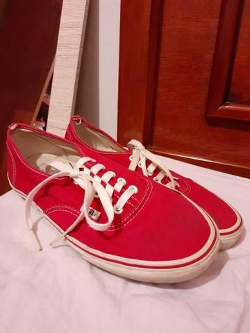 Vans Authentic Vermelho - Foto 3