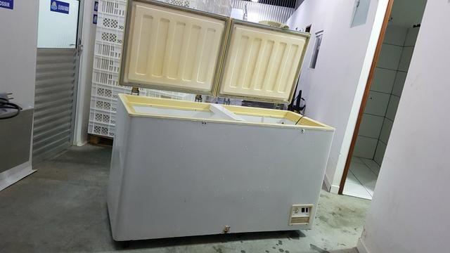 Freezer Horizontal Fricom 504 litros - Dupla Ação -duas portas - Foto 3