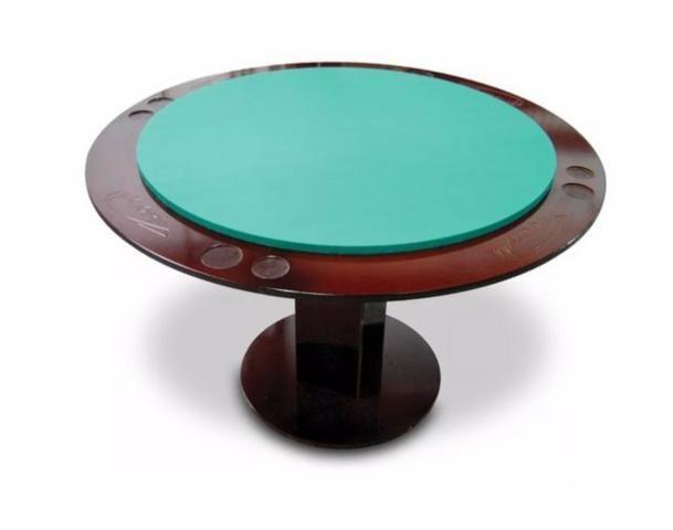 Mesa Poker/Carteado/Baralho Klopf 1077- 8 Pessoas - Oficial - Foto 2