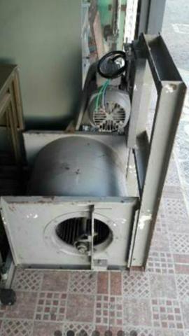 Ventilador turbina industrial