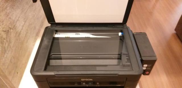 Impressora Multifuncional Epson L210 entupida - Foto 3