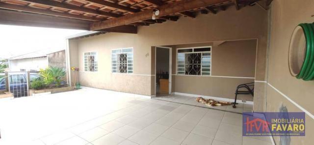 Casa com 3 dormitórios à venda, 88 m² por R$ 250.000 - Jardim Portal de Itamaracá - Londri