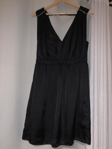 Vestido Vide Bula Curto Preto - Foto 2