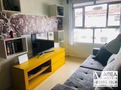 Apartamento com 2 dormitórios à venda, 62 m² por R$ 205.000 - Santa Quitéria - Curitiba/PR