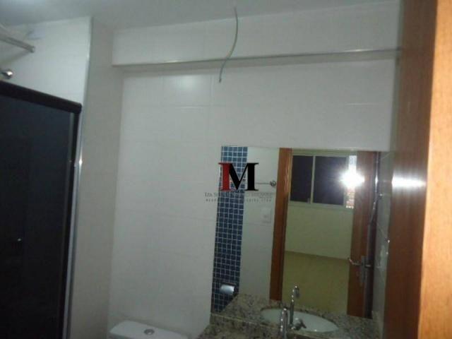 Alugamos apartamento com 3 quartos climatizado e armario de cozinha - Foto 14