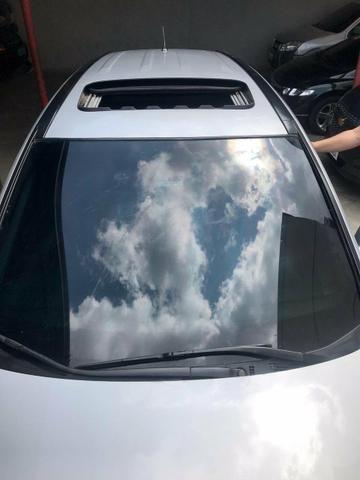 CR-V top de linha automático e brancos de couro - Foto 5