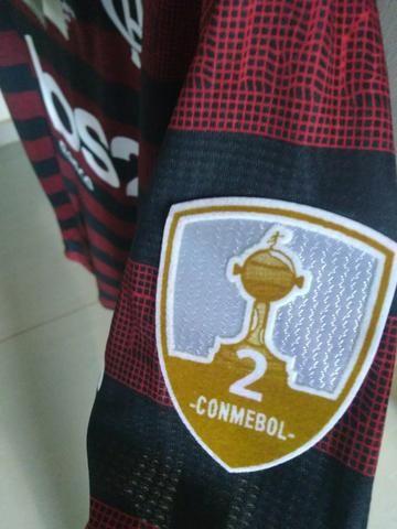 Camisa Flamengo I 19/20 Final Libertadores Versão Jogador - Foto 3