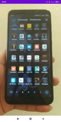 Troco xiaomi redmi 5 plus 32gb em iphone 6