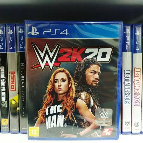 Ultima unidade game Lacrado wwe2k20