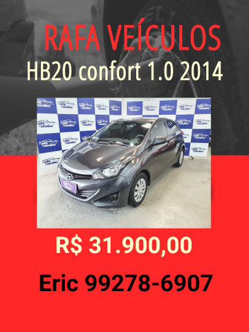 HB20 1.0 comfort 2014 R$31.900,00 - Eric rafa veículos llk1