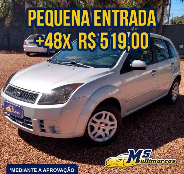 Fiesta 1.0 FLEX 2008 Completo - Foto 3