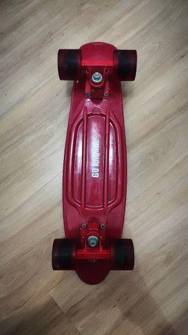 Skate Cruiser (Mini) Vermelho - Foto 3