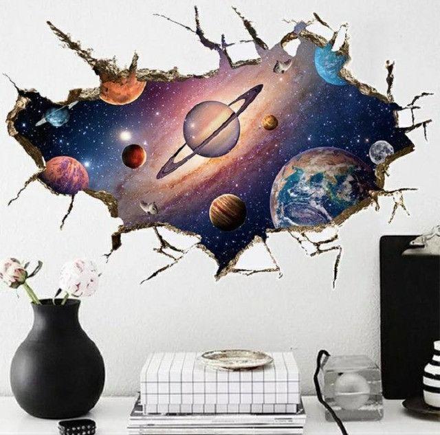Adesivo 3D Galaxia - Foto 3
