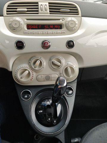 FIAT 500 DUAL 1.4 COMPLETO ANO 2012 - Foto 12