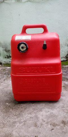 Motor de Popa Suzuki 15 HP - Barco - Foto 5