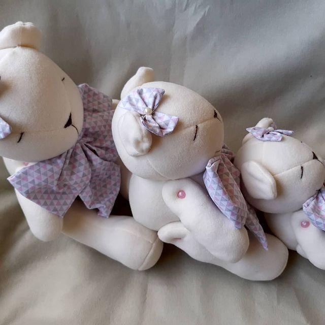 Ursinhas pelucia decoração quarto infantil - Foto 2