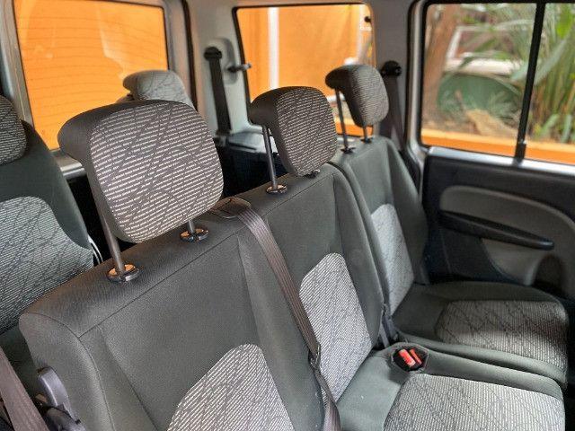 Fiat Doblo Essence 1.8 E-Torq 2019 impecável, somente de BH, Ipva 2021 quitado! - Foto 10
