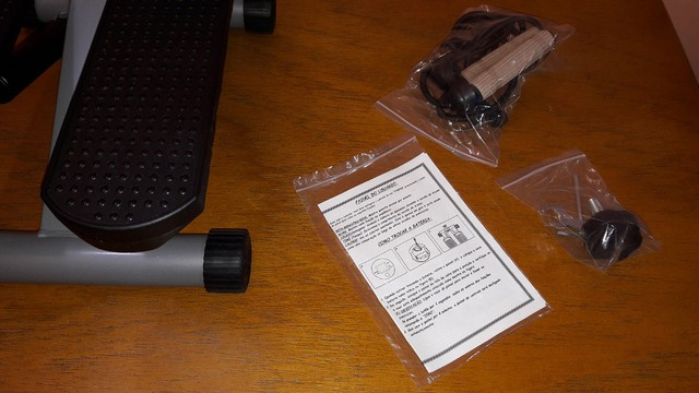 Stepper Simulador De Caminhada - Com Regulagem De Peso - Semi novo  - Foto 5